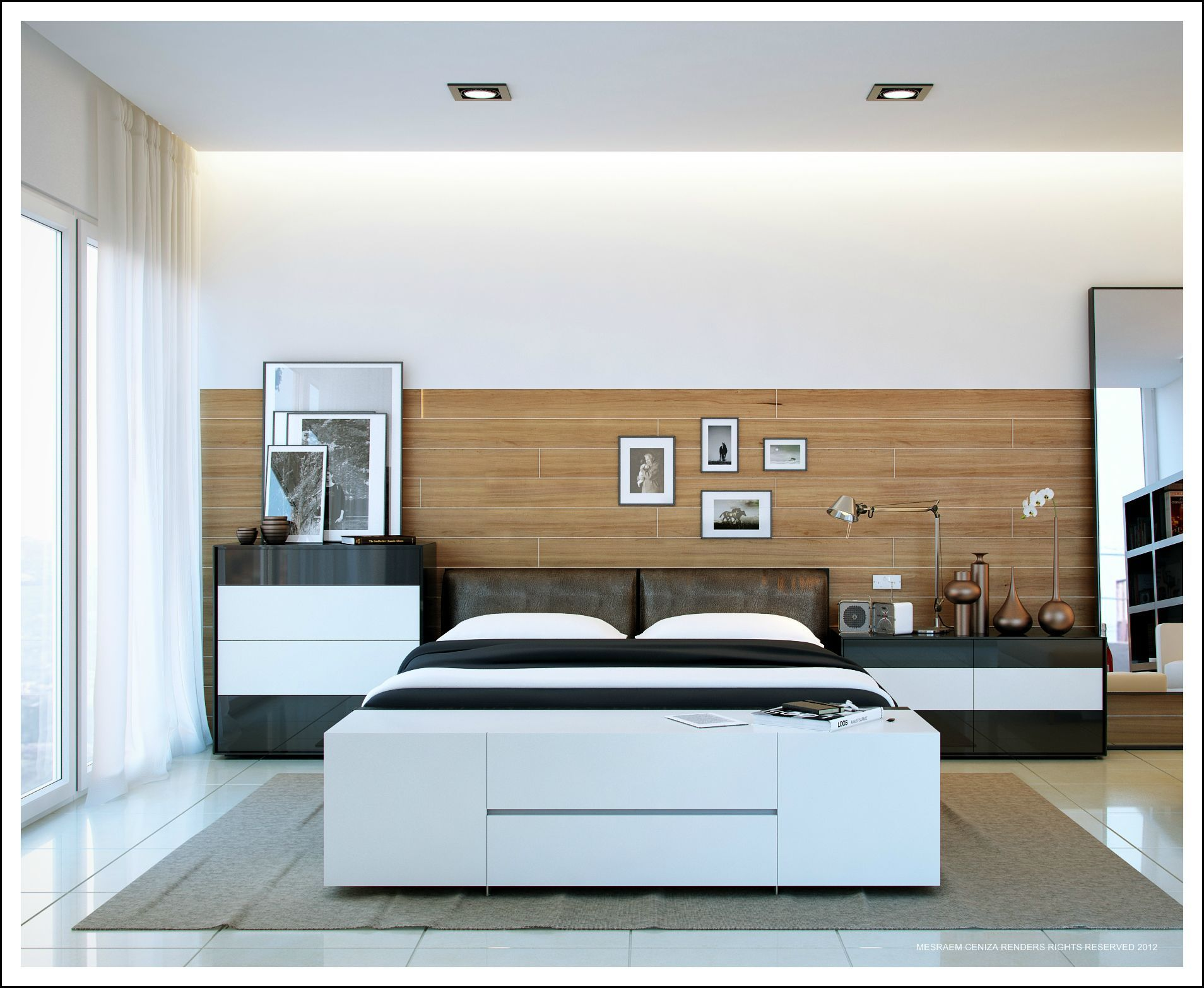 Contemporary Headboard Ideas For Your Modern Bedroom Modern Bedroom Decor Modern Bedroom Bed Without Headboard