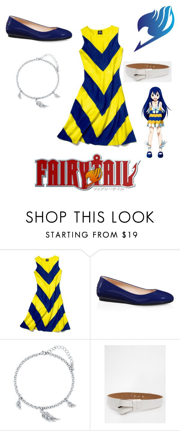 """""""Wendy: Fairy Tail"""" by angle12345 ❤ liked on Polyvore featuring Slater Zorn, Tod's, BERRICLE and ASOS"""