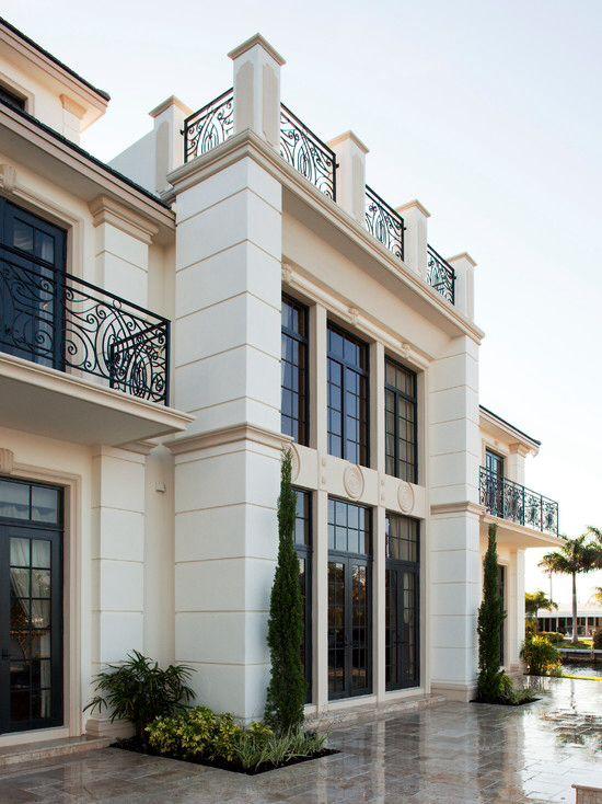 Unique House Design Exterior Design Architecture Design: Exterior Design, Neoclassical Architecture