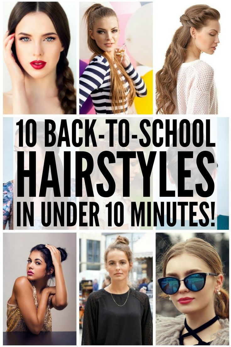 backtoschool hairstyles in under minutes school hairstyles