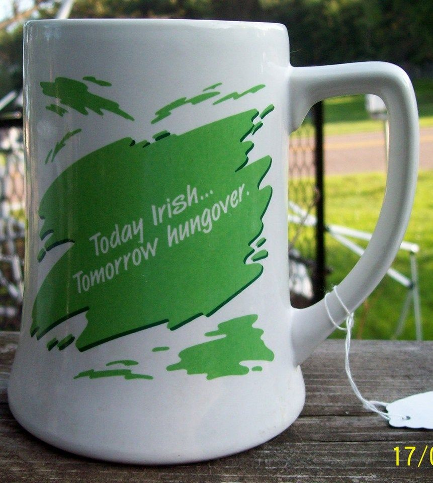 IRISH Beer Mug / Ceramic | Irish beer, Mugs, Beer mug  Irish Beer Mug