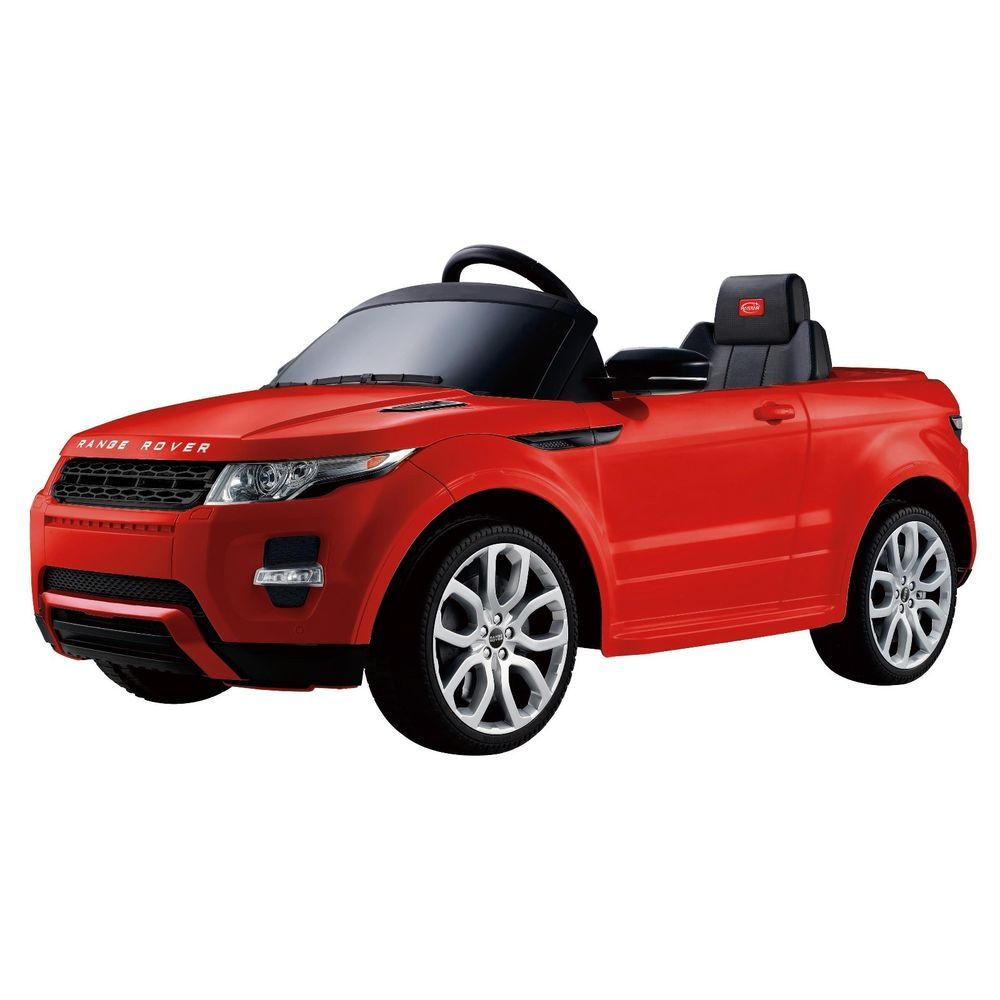 Electric Cars For Kids To Ride Toddler Toy Riding Range Rover Red