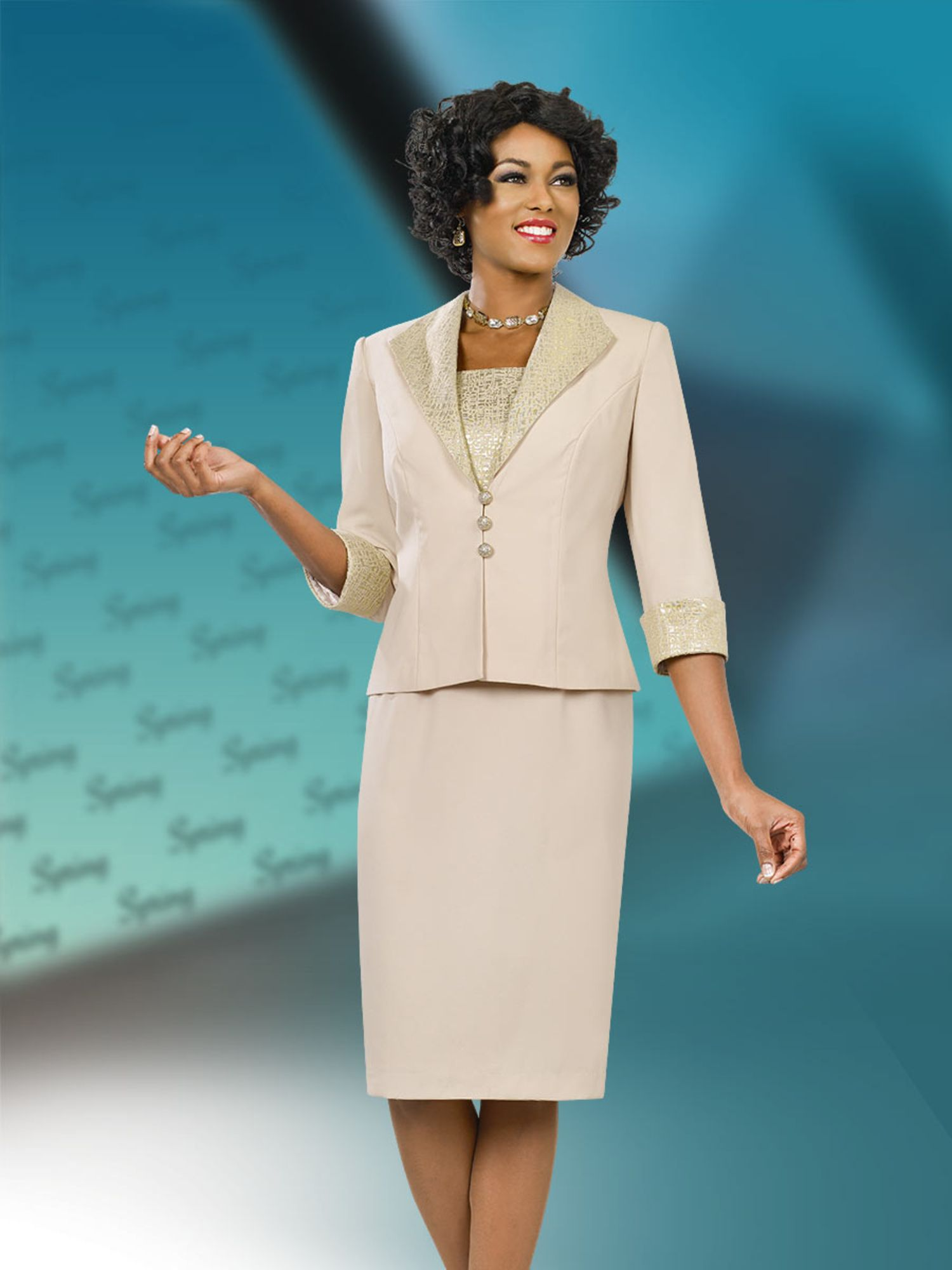 Benmarc Executive Dress & Jacket 11510 | Work suits, Church suits ...