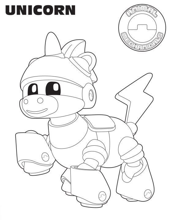 animal mechanicals coloring pages Excellent Animal Mechanicals Coloring Pages Color Book Ideas For  animal mechanicals coloring pages