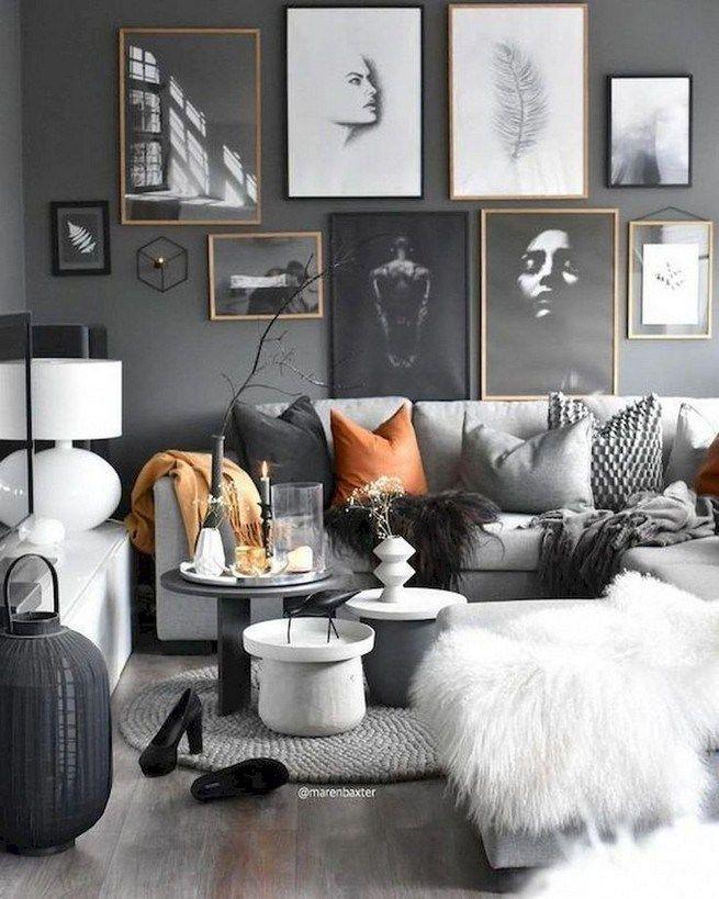 14 Small Living Room Decorating Ideas: 14+ Elegant Living Room Wall Decor Ideas