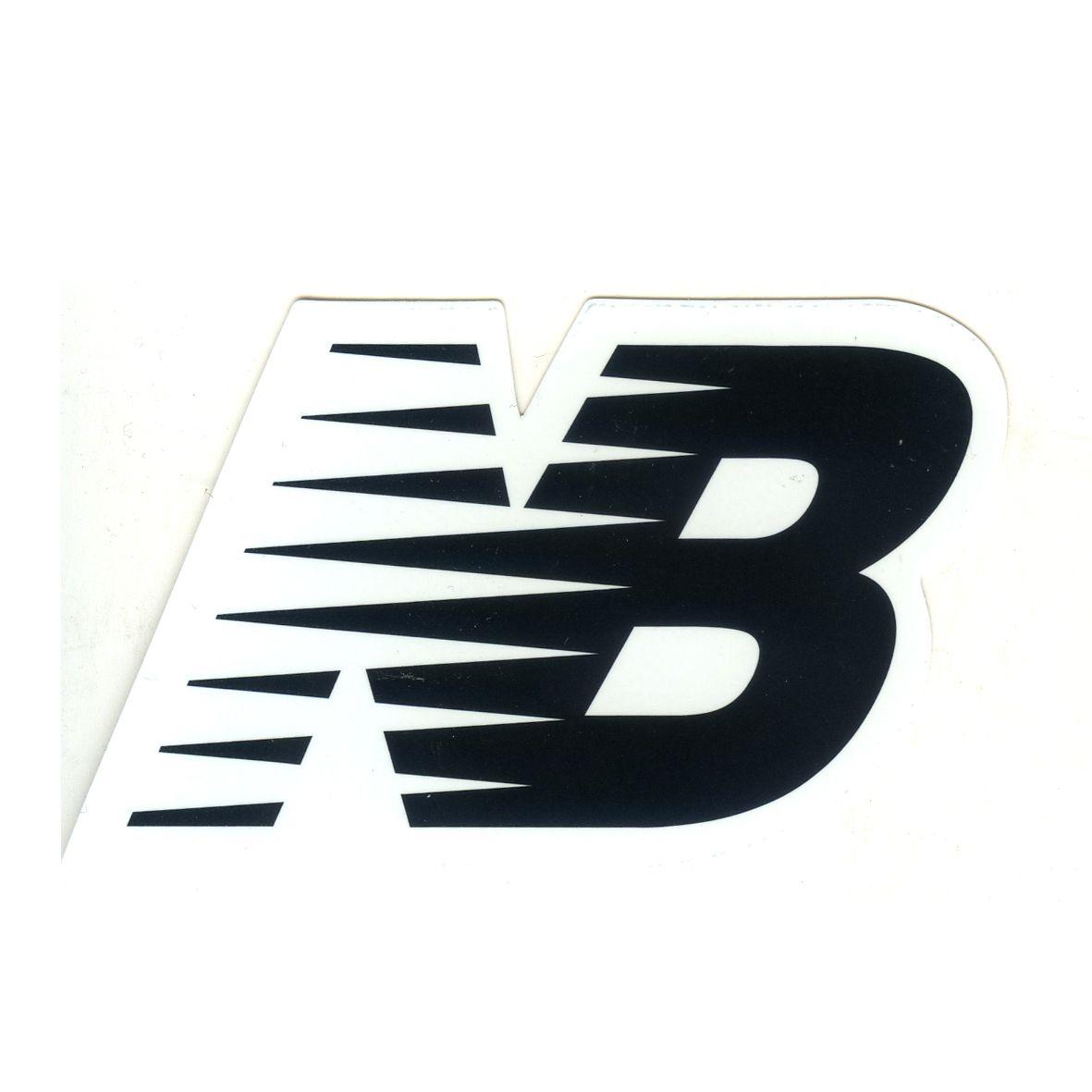 #1623 NB New Balance shoes Logo , width 9 cm decal sticker - DecalStar.