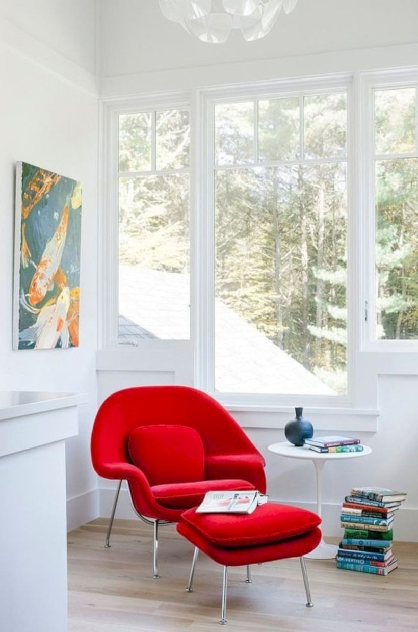 50 Modern Red Accent Chair Dining Ideas Red Accent Chair