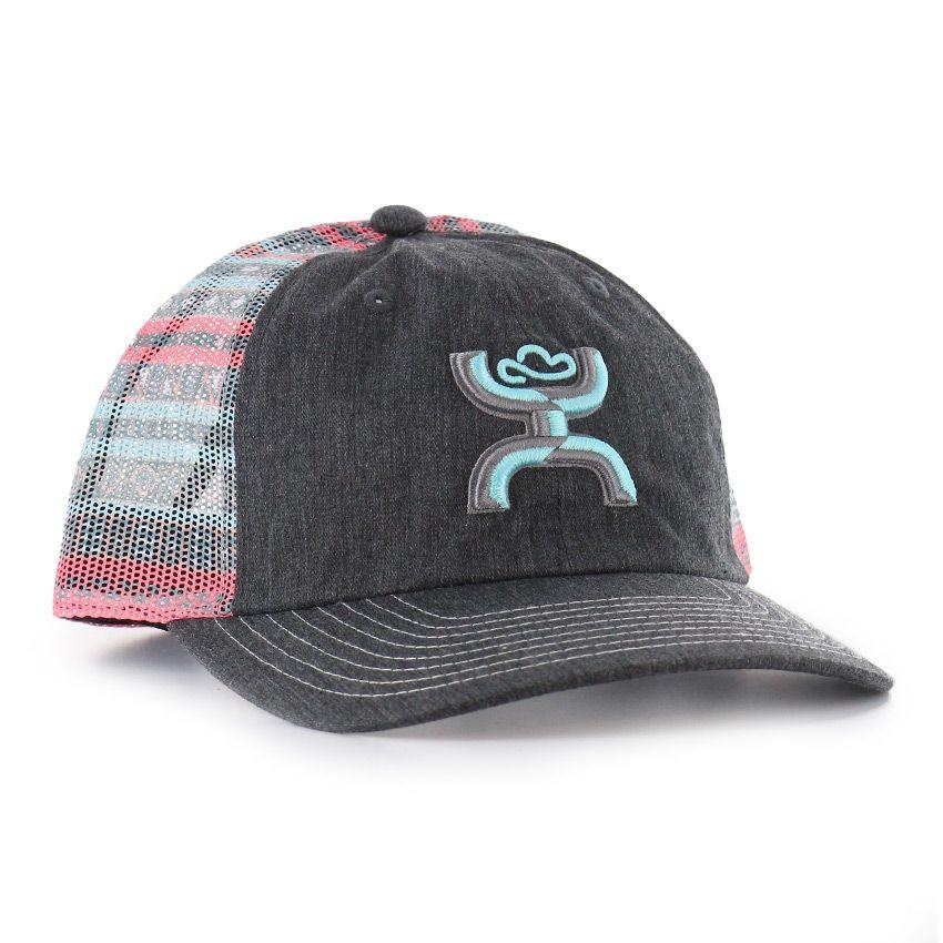 ffa15d77b3612 HOOey Women s Embroidered Logo Trucker Ball Cap