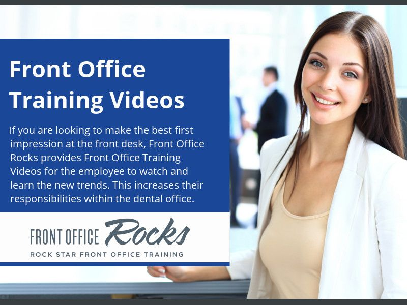 Front Office Training Videos - If you are looking to make