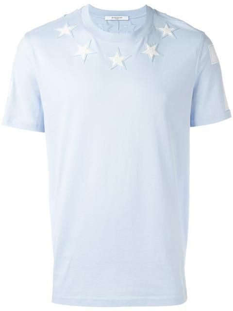 8481cd9efe GIVENCHY star embroidered T-shirt. #givenchy #cloth #티셔츠 ...