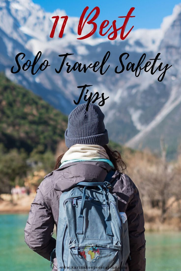 11 Solo Travel Safety Tips in 2020 Travel safety, Solo
