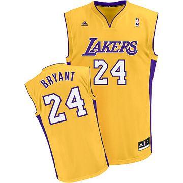 Camiseta Nba De Bryant Los Angeles Amarillo La Lakers Jersey Los Angeles Lakers Nba Jersey