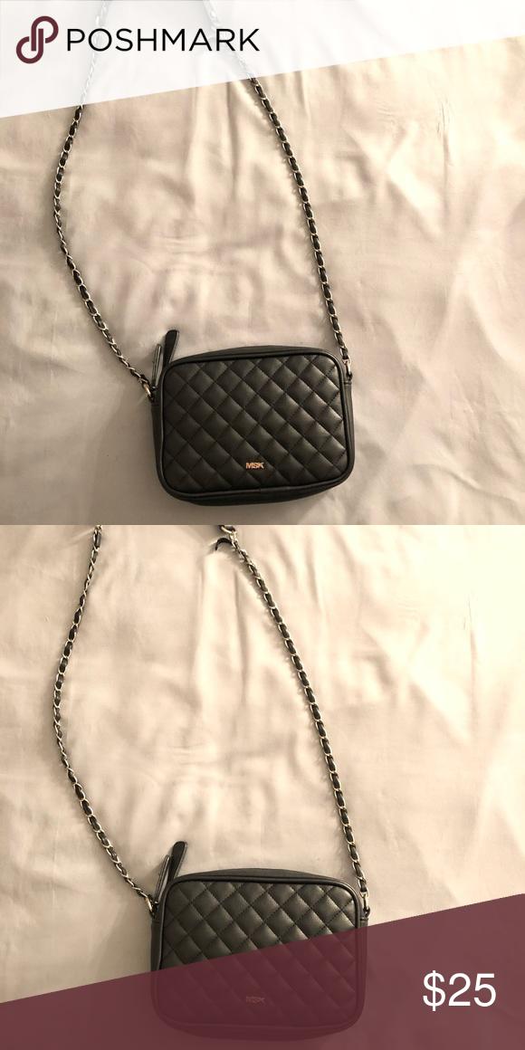 ae8edbe5ac118b Black cross body purse Super cute black cross body purse! Only used a  couple times! In good condition. MSK Bags Crossbody Bags