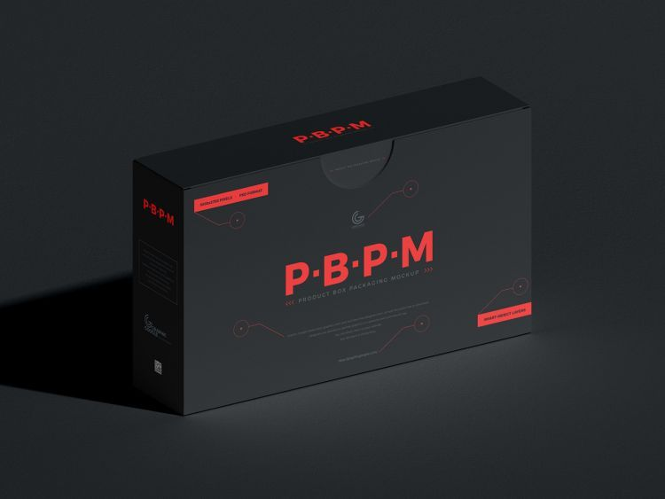 Download Product Box Packaging Free Psd Mockup Packaging Mockup Photoshop Mockup Free Mockup Free Psd