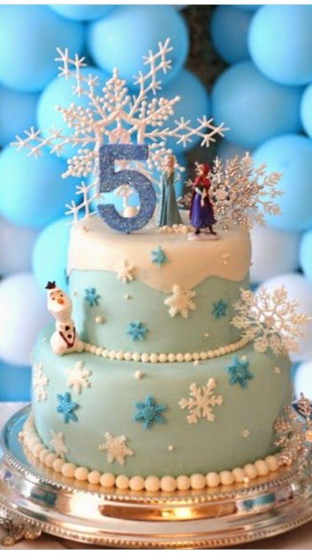 21 Disney Frozen Birthday Cake Ideas and Images Disney