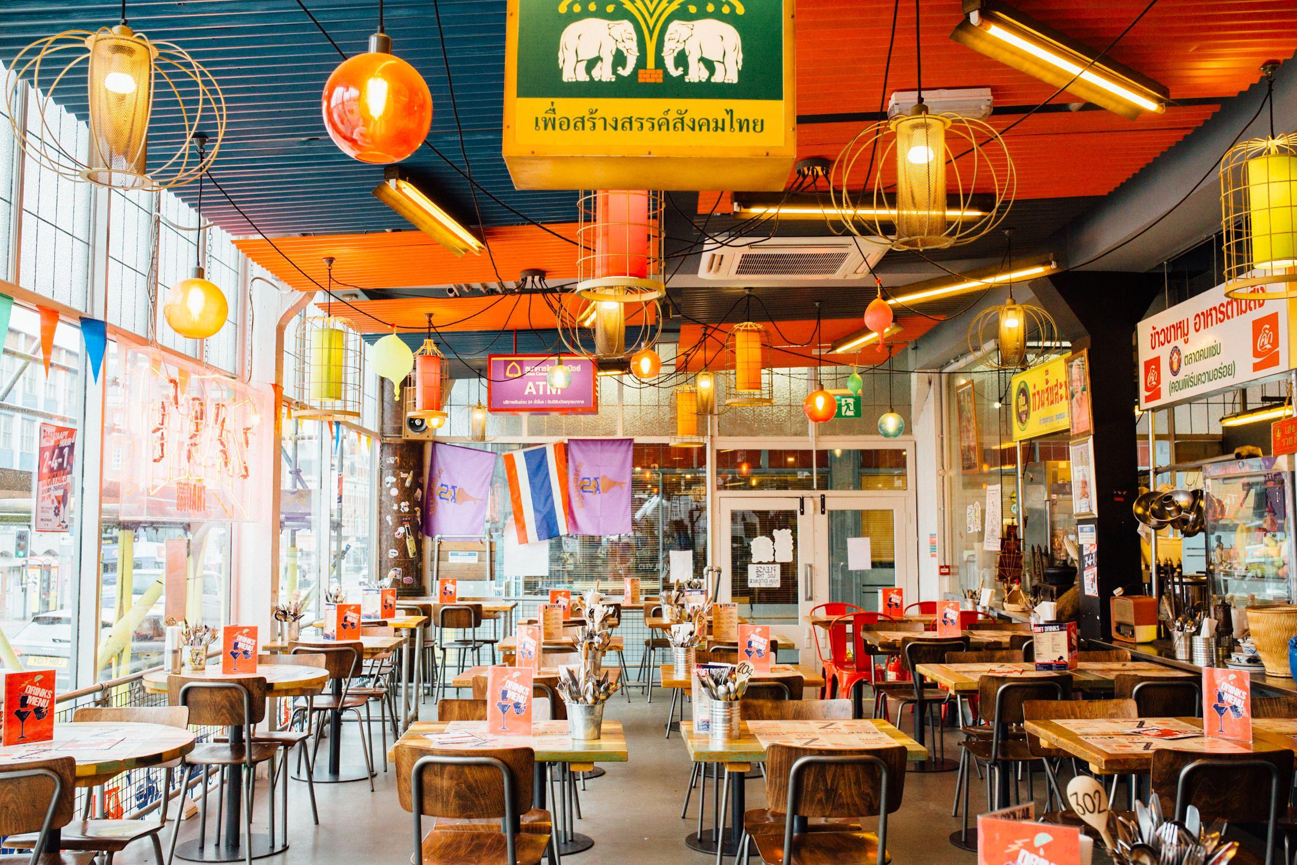 Zaap Thai Authentic Thai Street Food Leeds Newcastle Nottingham Zaap Thai Thai Street Food Street Food Design Food Stall Design