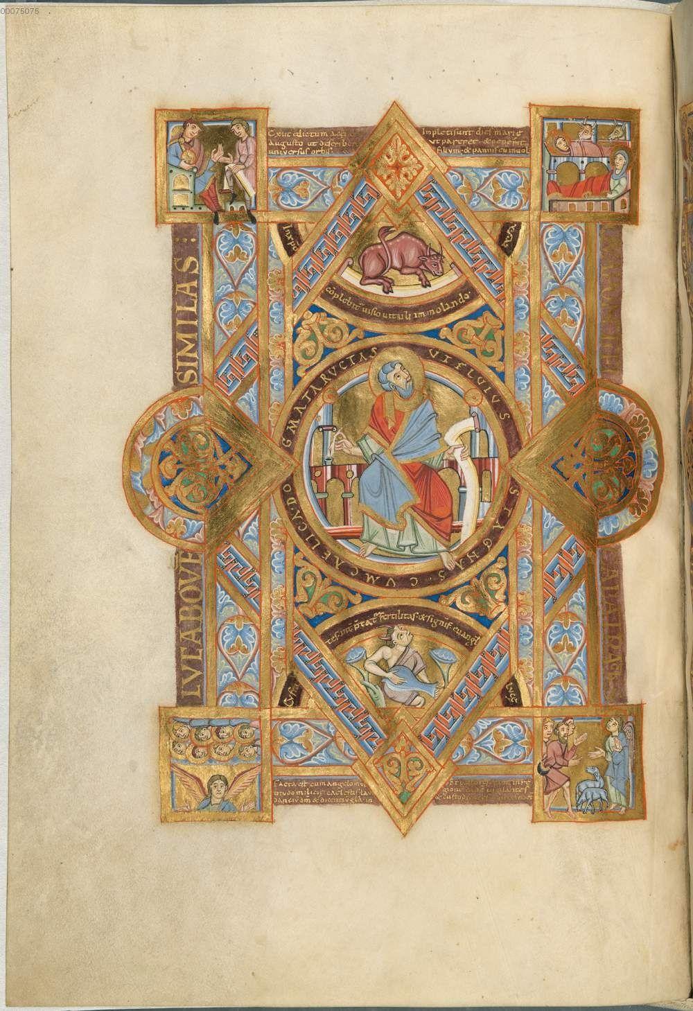 Quattuor Evangelia - Uta-Evangelistar (Uta-Codex) - BSB Clm 13601, [S.l.], 11. Jh. [BSB-Hss Clm 13601]