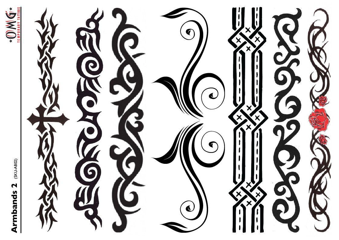 Temporary Armband Tattoos