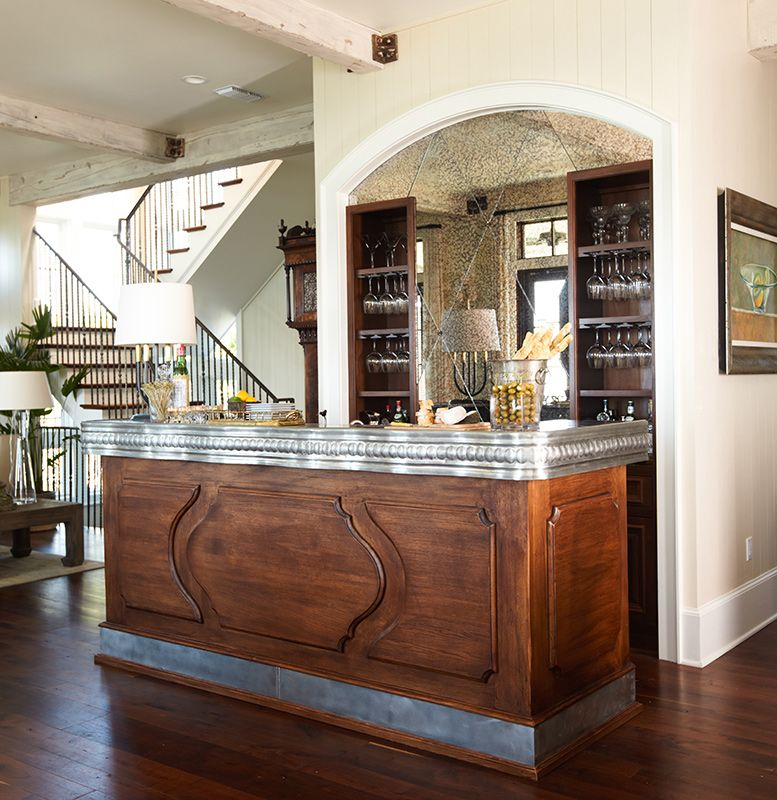 Traditional Home Bar Designs: Sophisticated Florida Beach House In 2018