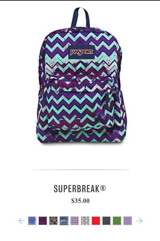 Superbreak® backpack in 2019 | Back to school | Jansport