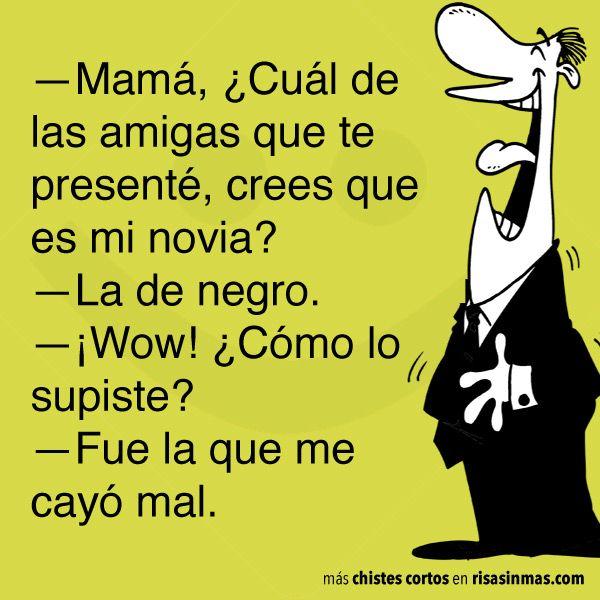Chistes Cortos Novia Spanish Con Humor Humor Funny Jokes Y