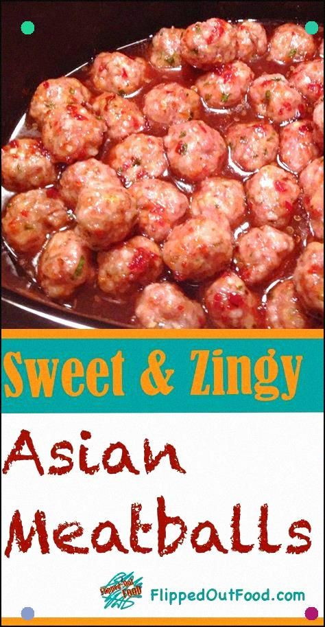 Not Your Standard Potluck Meatballs Sweet And Zingy Asian