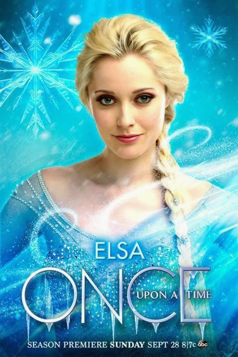 Once Upon A Time Season 4 Elsa Anna Character Posters