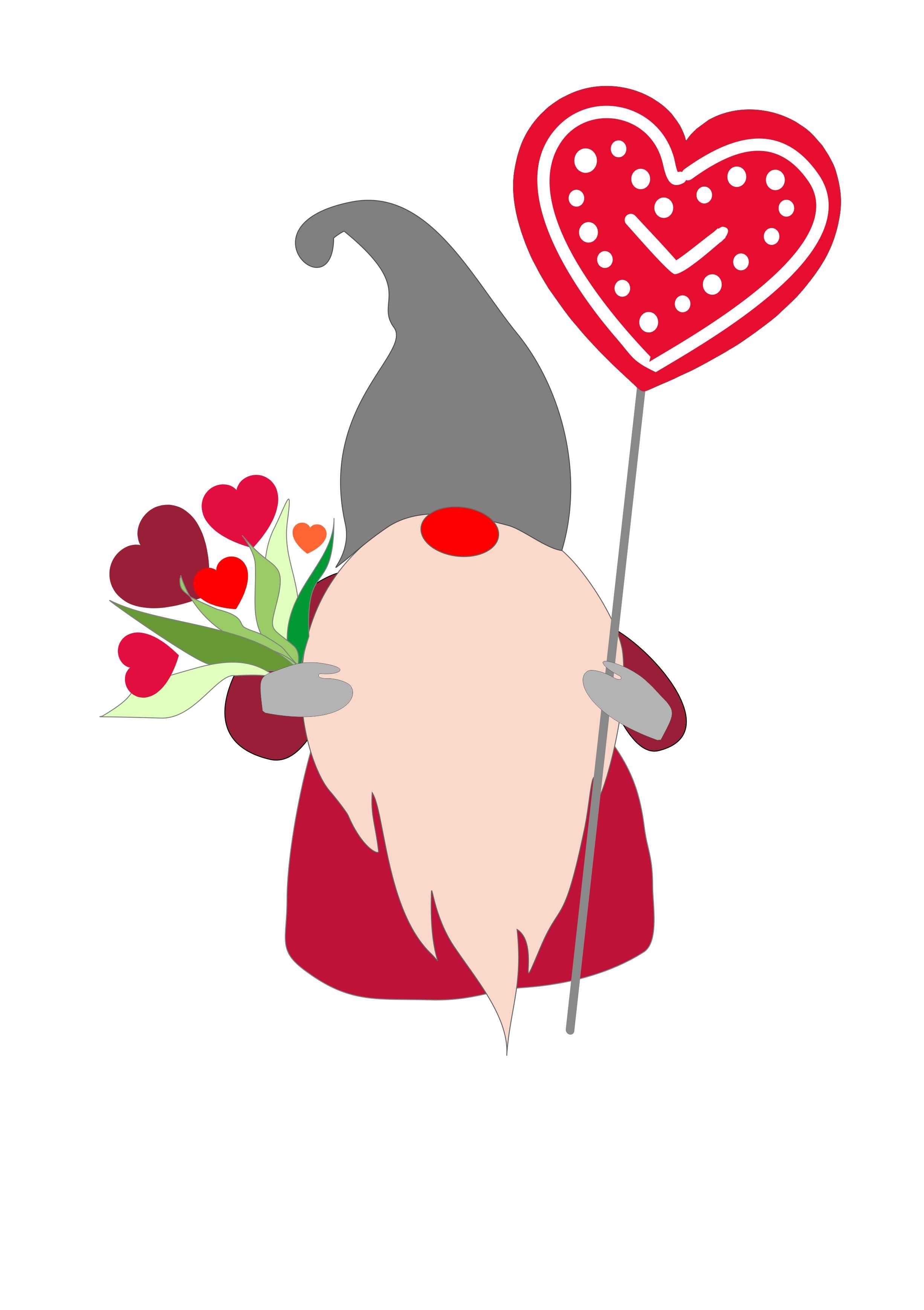 Download Valentine day svg, Valentines gnomes digital , love gnome ...