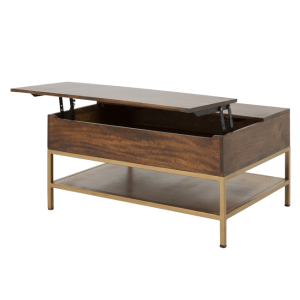 Lomond Lift Top Coffee Table With Storage Mango Wood And