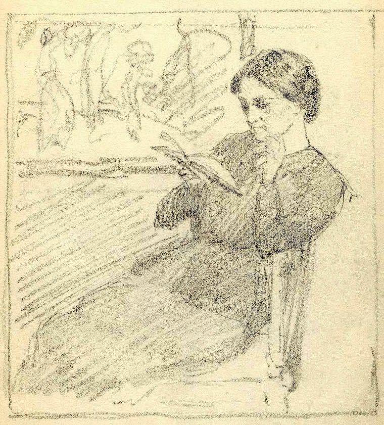 A Sketchbook of the Czech Artist T.F. Simon (1877-1942)