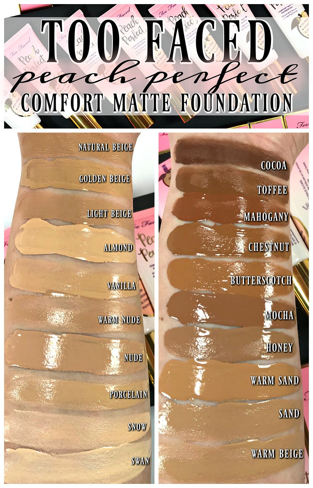 Primed & Peachy Cooling Matte Perfecting Primer by Too Faced #20