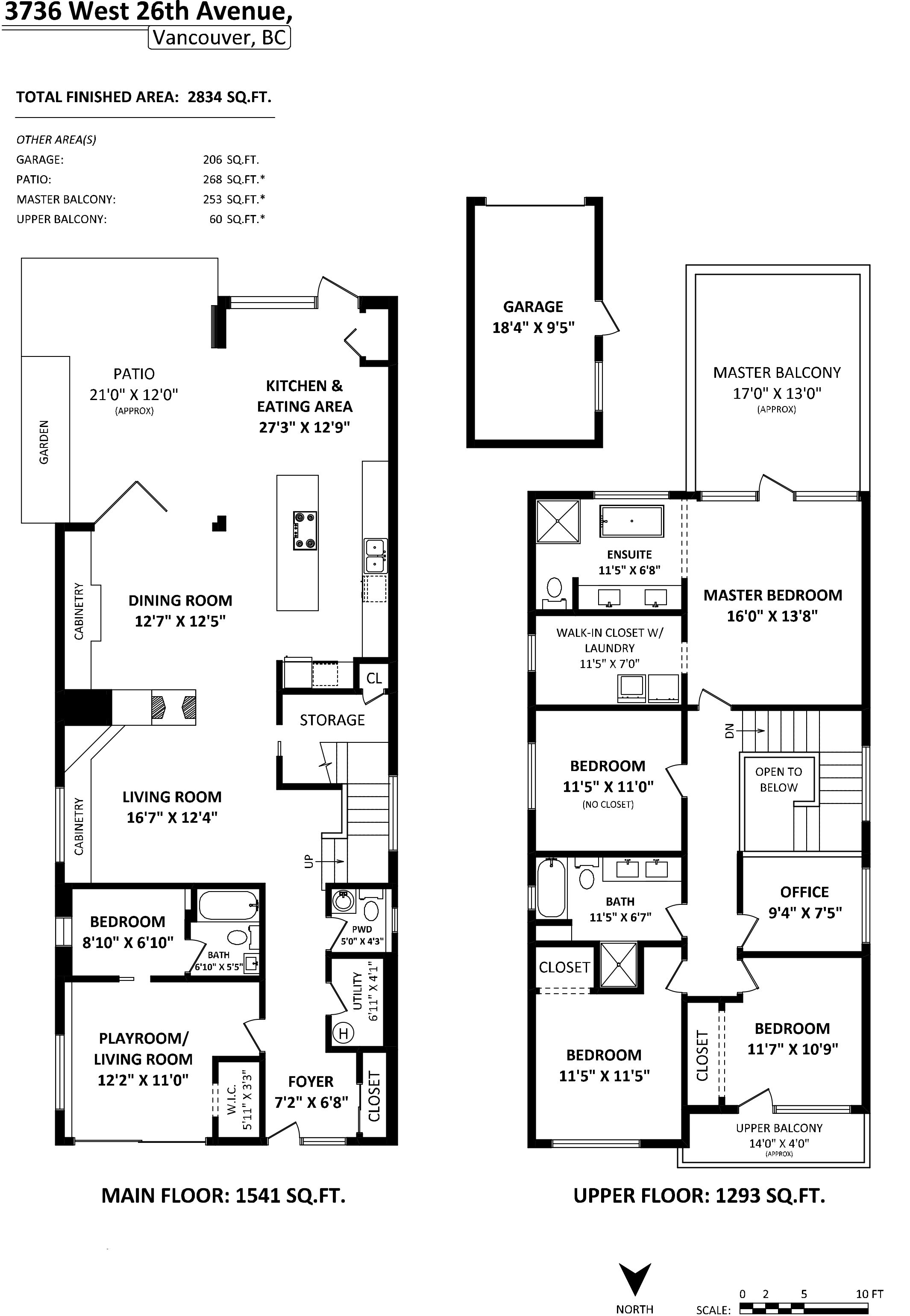 Dunbar Modern Hosue Floor Plan Garage House Plans Floor Plans Contemporary House