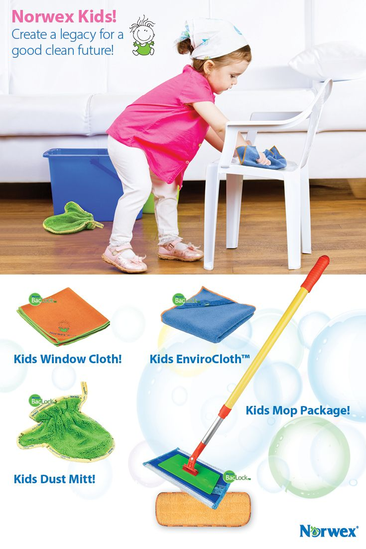 Kids Norwex Microfiber Create A Legacy For Good Clean
