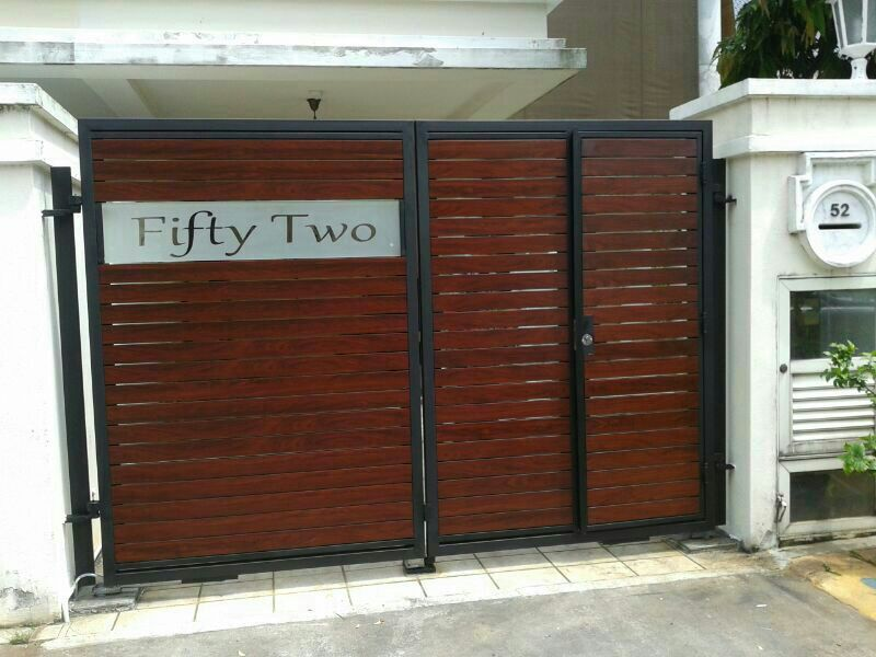 Peachy Showing Post Media For Residential Gate Designs Largest Home Design Picture Inspirations Pitcheantrous