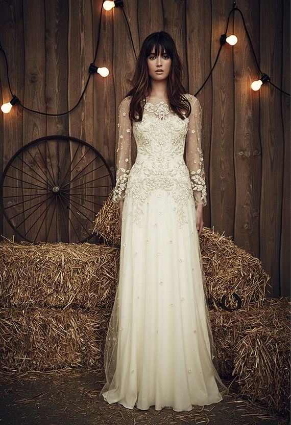 Rustic Country Wedding Dresses from Jenny Packham 2017 Collection ...