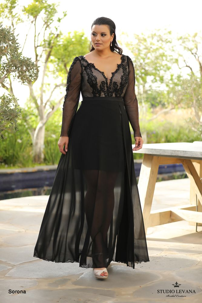 Plus size evening gowns | Wedding gowns- Studio Levana ...