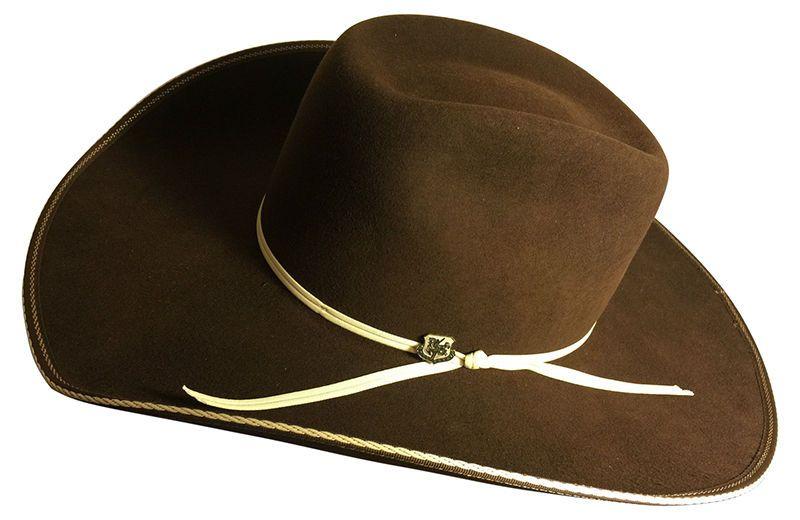 28531affc4e Resistol Tuff Hedeman Collection Snake Eyes Western Hat