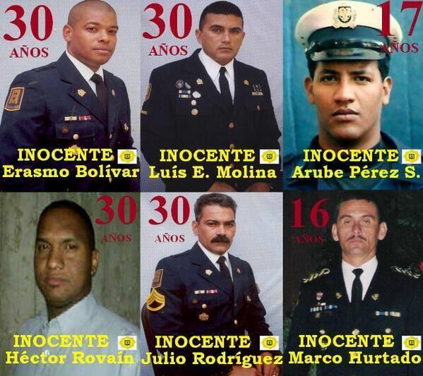 "NO SOLO ES @Mariajose Simonovis Y @Leopoldo Lopez ESTOS VZLANOS TAMBIEN SON PRESOS POLITICOS DE ESTE REGIMEN MORIBUNDO   pic.twitter.com/F9B8elMNwx"""