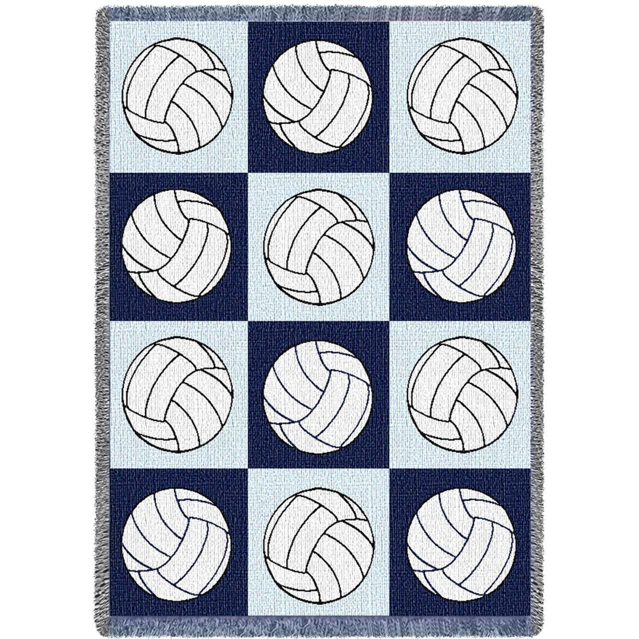 Volleyballs Art Tapestry Throw. Volleyball RoomRoom ...