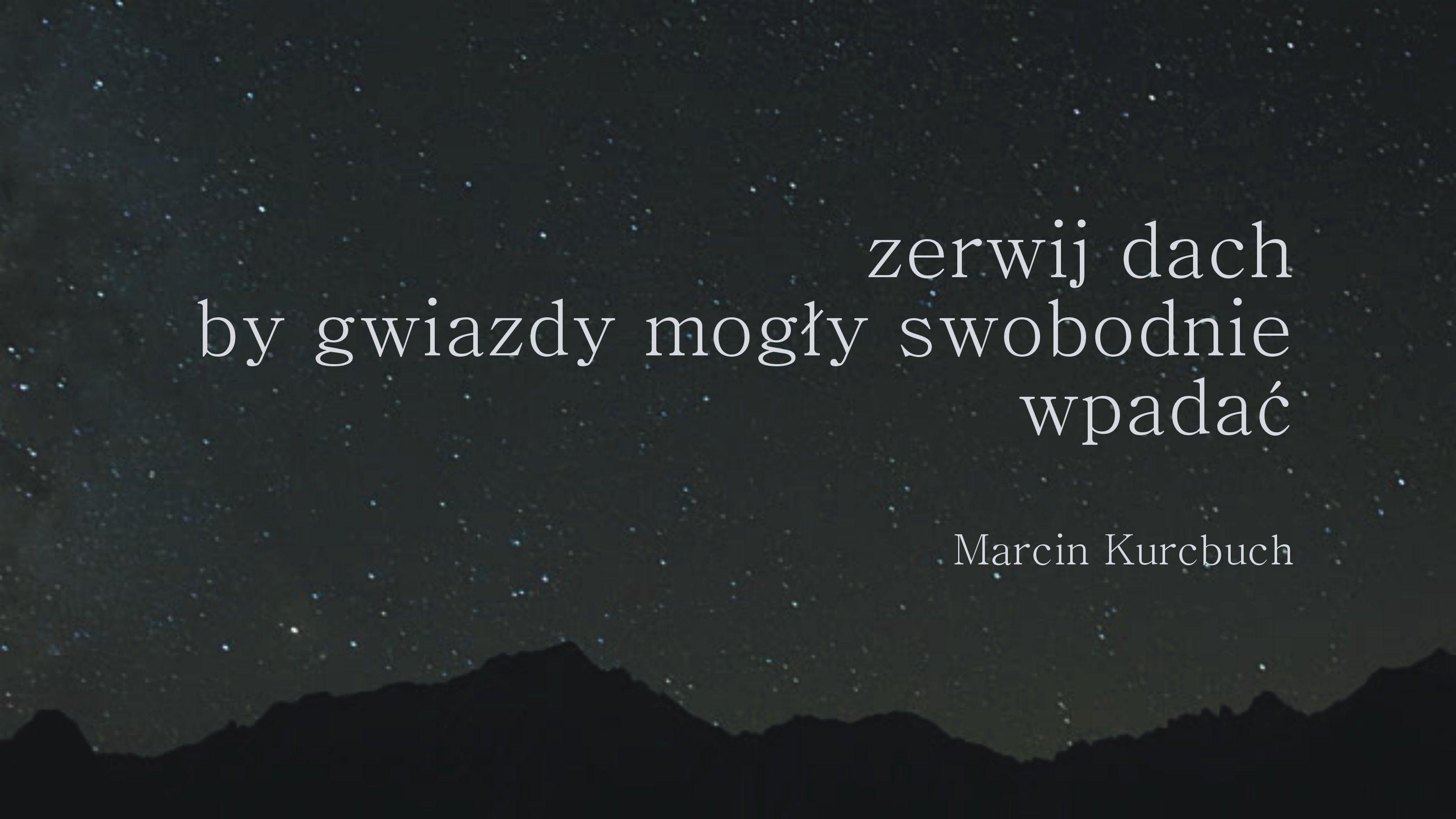 Pin Na Marcin Kurcbuch Cytaty
