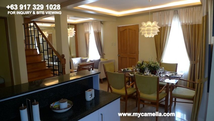 Drina House Model Camella Drina House For Sale In Tagaytay Model Homes Small House Design Bungalow House Design