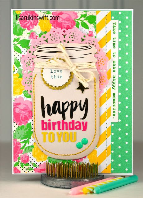 Card Share: Happy Birthday to You made with @chickaniddy 365. #paperissues #birthdaycard #handmadecard #happybirthdaytoyou #365motsbocalidees