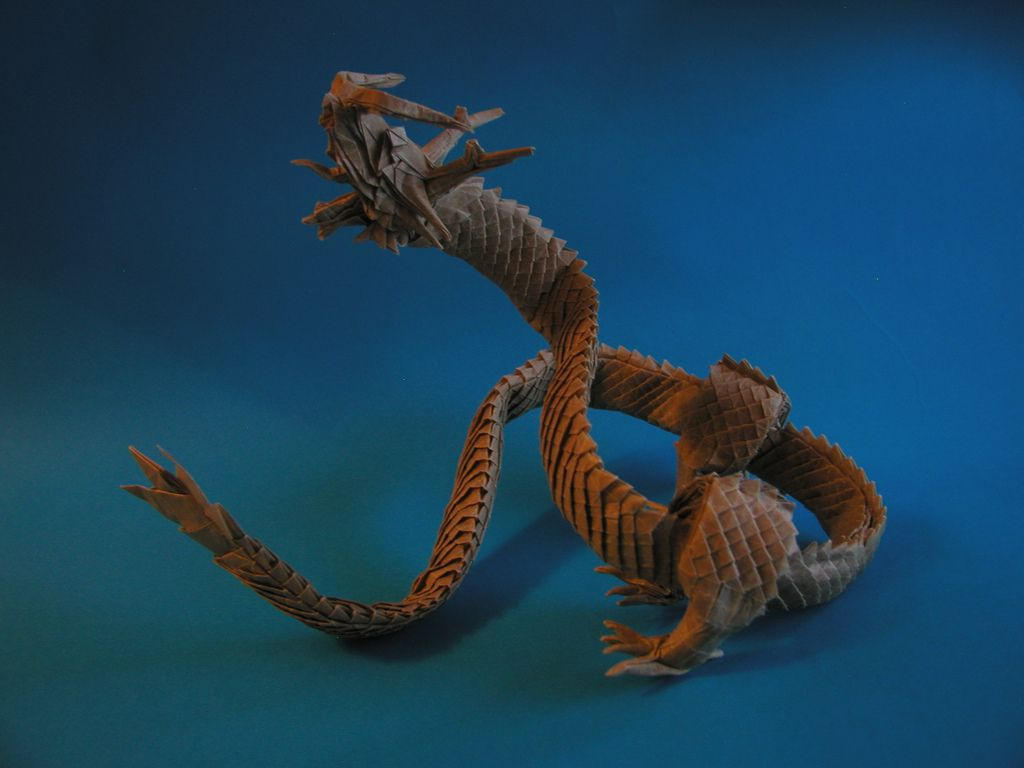 龍神 3 5 Ryujin 3 5 By Pauliusorigami Dragon Cool