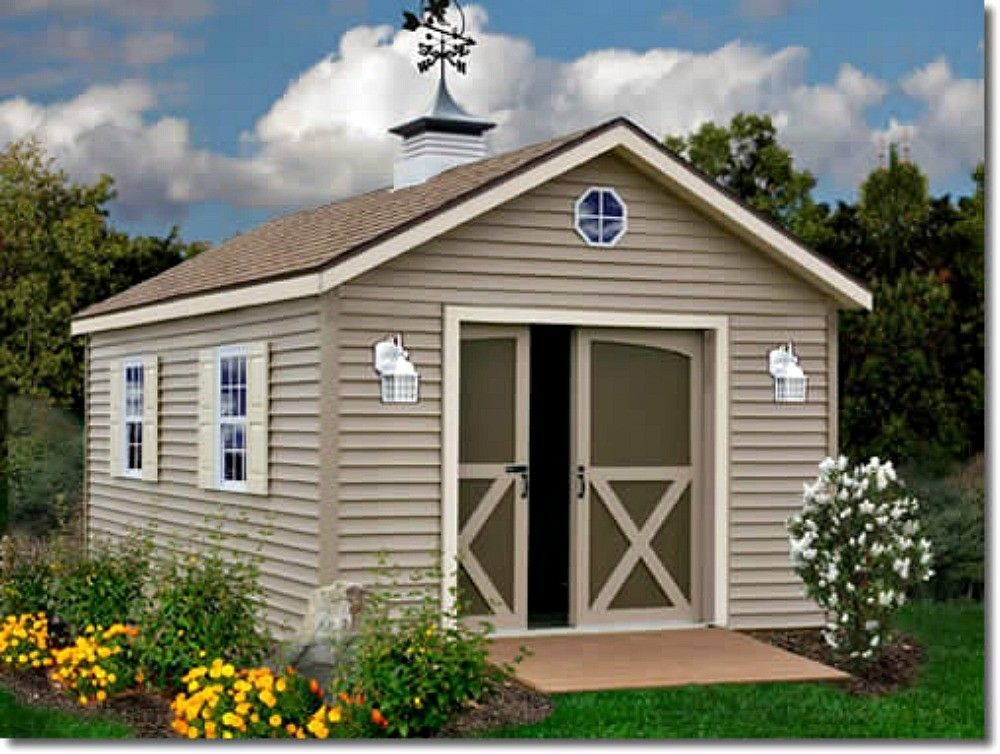 Best Barns South Dakota 12x20 Vinyl Siding Wood Shed Kit Southdakota 1220 Building A Shed Storage Shed Kits Wood Shed