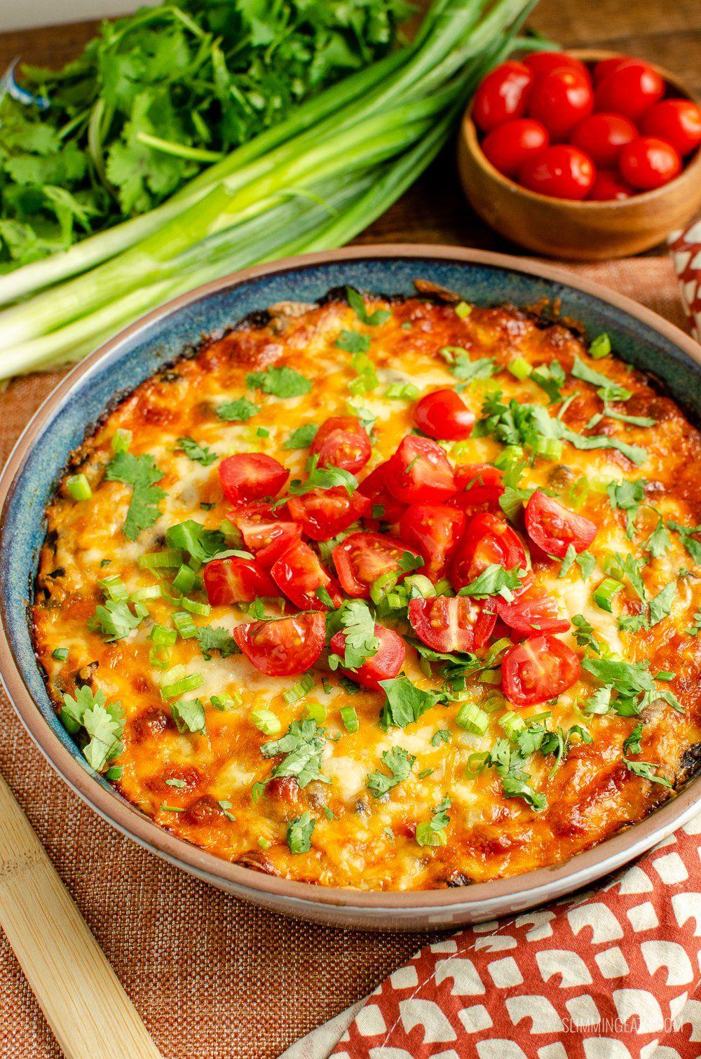 Mexican Spaghetti Squash Bake | Slimming Eats - Slimming World