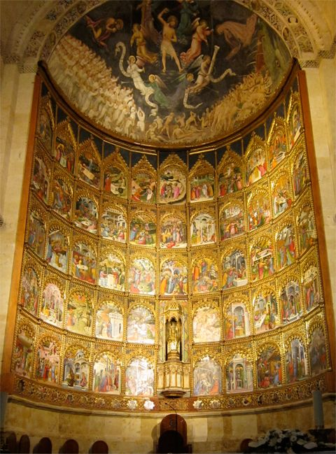 Old Cathedral, Salamanca altar - Google Search