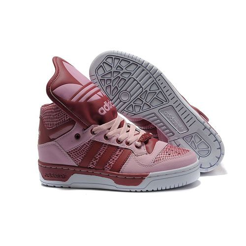 JS Women's adidas Originals Metro Attitude Logo W Shoes - Rose Red
