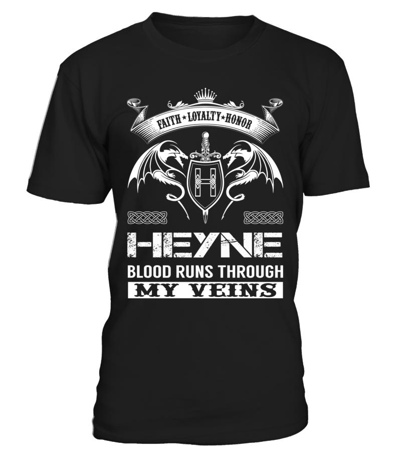 HEYNE Blood Runs Through My Veins