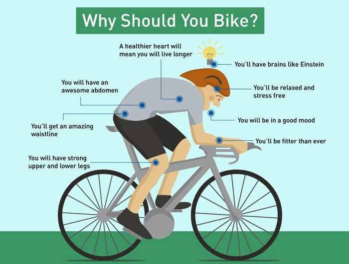 The Health Benefits Of Regular Cycling Includes Increased
