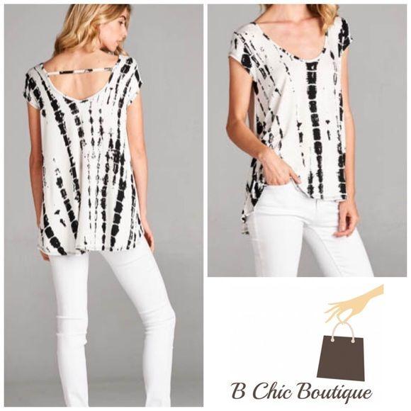 White Tie Dye Short Sleeve Tunic | Patrones de costura, Patrones y ...